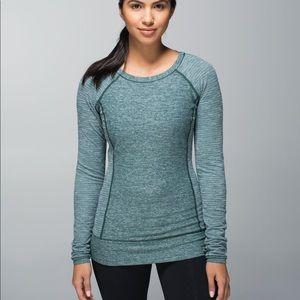 Lululemon Race Your Pace Long Sleeve Fuel Green 8